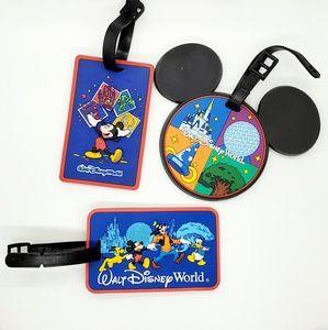 🆕️Walt Disney World•set of 3 luggage/baggage tags